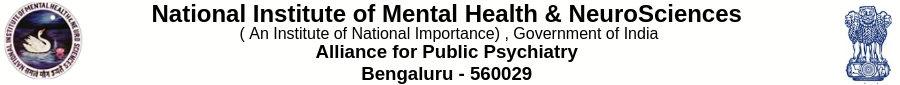 National Institute of Mental Health & Neurosciences